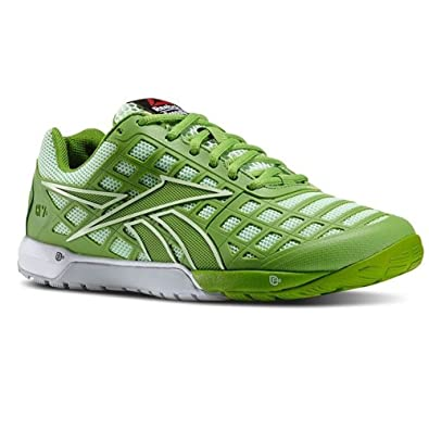 up-to-datestyling best sale quality Reebok Crossfit Nano 3.0 Womens Sneakers (9, Green/Smash/Sea/White/Steel)