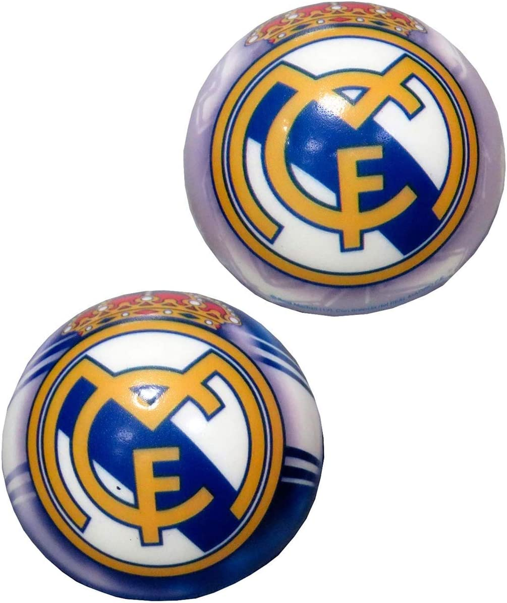 Real Madrid Pelota antiestrés 63mm (BA-20-RM), Multicolor, 0 ...