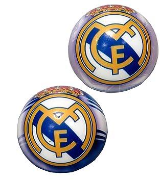 Real Madrid Pelota antiestrés 63mm (BA-20-RM), Multicolor, 0 ...
