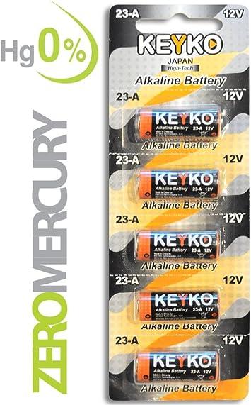 5 pcs GP23A 12V Alarm-Remote Alkaline Batteries GP 23AE 21//23 A23 23A 23GA MN21
