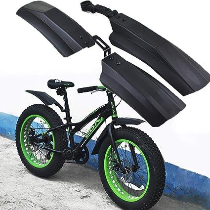 YOUNICER Estilo de cola de milano Guardabarros ajustable Bicicleta ...