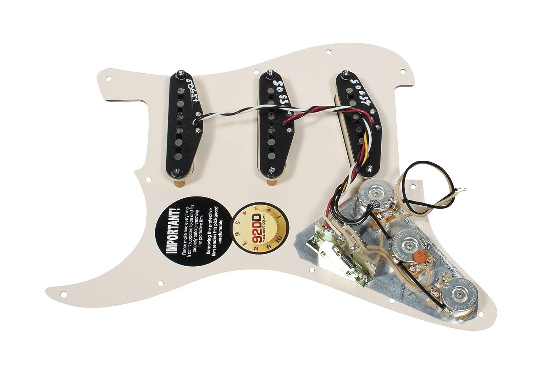 Amazon.com: Fender Tex-Mex 920D Loaded Pre-wired Strat Pickguard ...