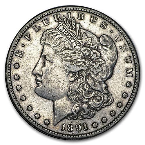 1891 S Morgan Dollar XF $1 Extremely Fine