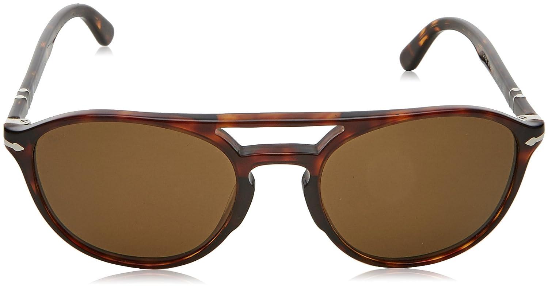 Persol Herren Sonnenbrille 0Po3170S 901557, Braun (Havana/Polarbrown), 52