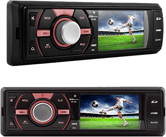 XO Vision XO1939 In-Dash 3 Video and MP3 Stereo Receiver NO CD PLAYER