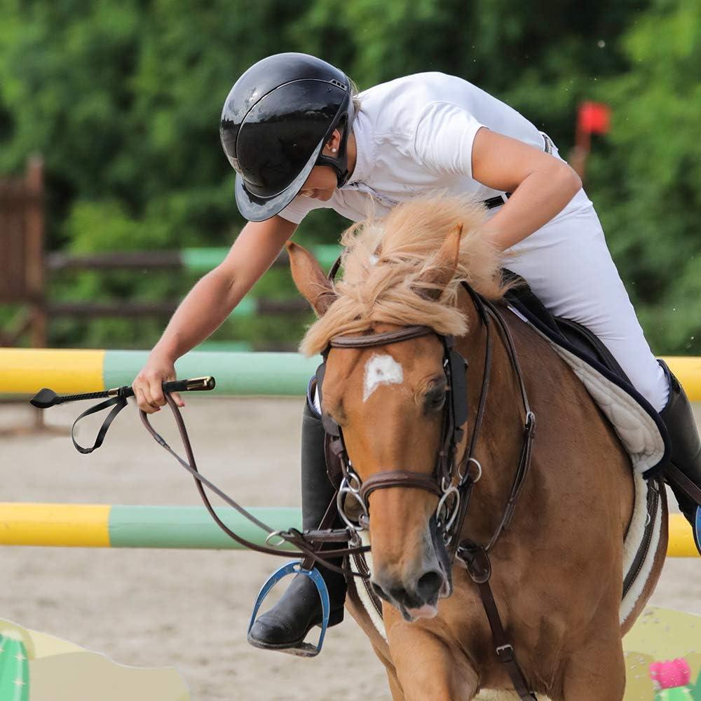 2 Pack Tfwadmx 18 Riding Crop Faux Leather Short Horse Riding Crop Equestrianism Horse Crop Riding Crop Set