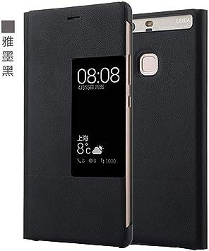 PU Funda Flip de Cuero para Huawei P9 Plus Estilo Original Ventana ...