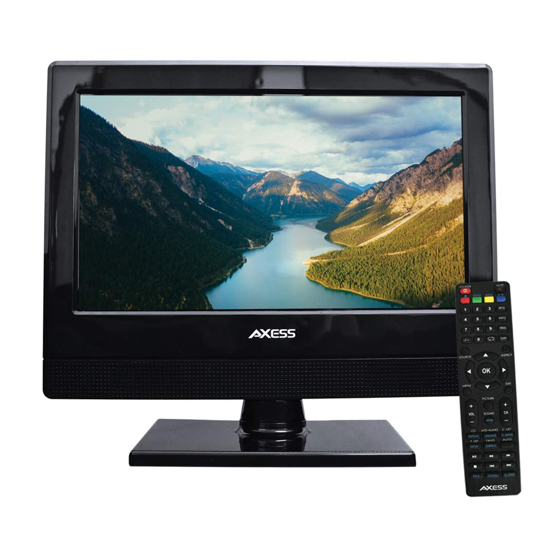 AXESS TV1705-13 13-Inch LED HDTV, Features 1xHDMI/Headphone Inputs, Digital  Tuner with Full Function Remote