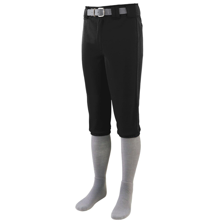 Augusta Sportswearメンズシリーズ膝長野球パンツ B015JNRXGGブラック M