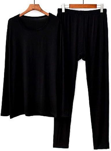 LEYUANA Pijamas de otoño Invierno para Mujer de Talla Grande, Ropa de Dormir de algodón Modal, Conjunto de Pijama, Ropa Interior elástica, Pijama ...