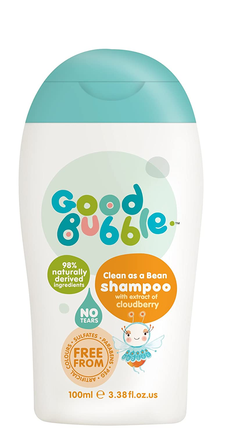 Good Bubble Sulfate-Free Shampoo with Cloudberry Extract 100ml Ella Banks Ltd
