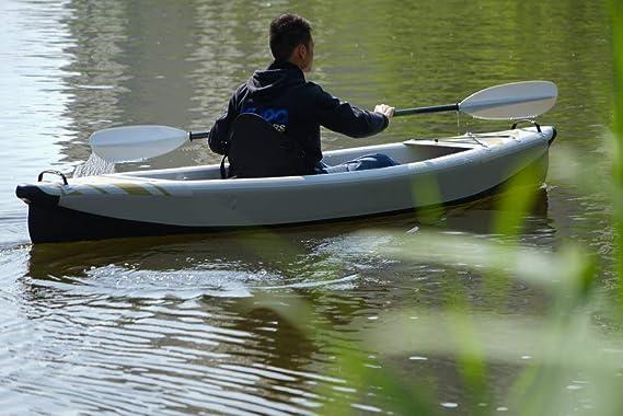 LIDAUTO Kayak Inflable Bote Inflable de Fondo Cepillado ...