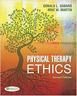 Book Physical Therapy Ethics by Donald L. Gabard PT PhD (2011-11-08)