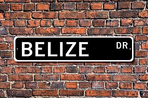 - Belize Sign Gift Keepsake Wall Decor Decor Belize Souvenir Sign Yard Fence Driveway Street Sign Indoor Outdoor Decorative