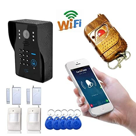 YLXD Videoportero Timbre de Video Video Doorbell, WiFi ...