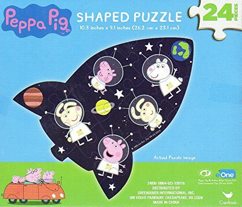 Kids Playtime Toddler Fun - 24 Pieces Jigsaw Puzzle Peppa Pig - Square Macy's Times