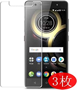 【3 Pack】 Synvy Screen Protector for Lenovo K8 Plus TPU Flexible HD Film Protective Protectors [Not Tempered Glass]
