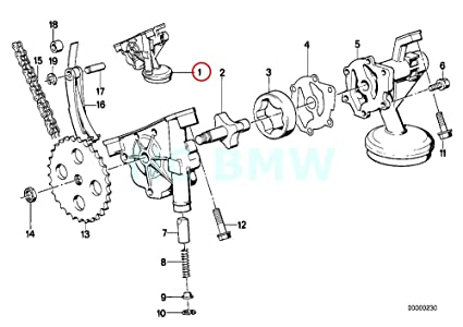 Amazon Com Bmw Genuine Oil Pump Automotive