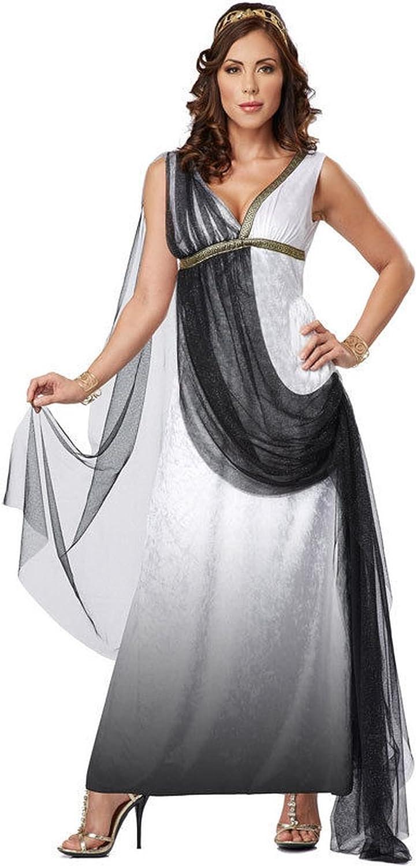 C645 Venus Goddess Of Love Aphrodite Greek Roman Deluxe Toga Fancy Dress Costume