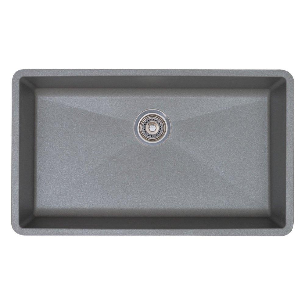 White Sinks For Kitchen Blanco Bl440150 Precis Super Single Bowl White Single Bowl