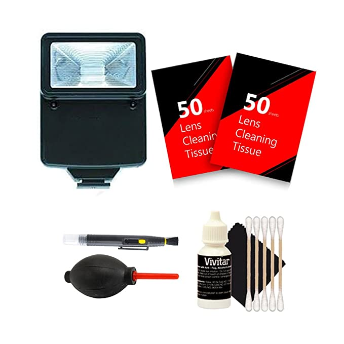 Amazon.com : Slave Flash + 100 Lens Tissue + Top Cleaning Kit for NIKON D3300 D3200 D3100 D5500 D5300 D5200 D5100 DSLR Camera : Camera & Photo