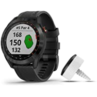 $255 » Garmin Approach S40 Bundle, Stylish GPS Golf Smartwatch, Includes Three CT10 Club Trackers,…