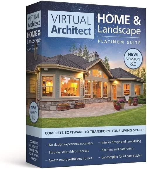 Virtual Architect Home and Landscape Platinum Suite 8.0