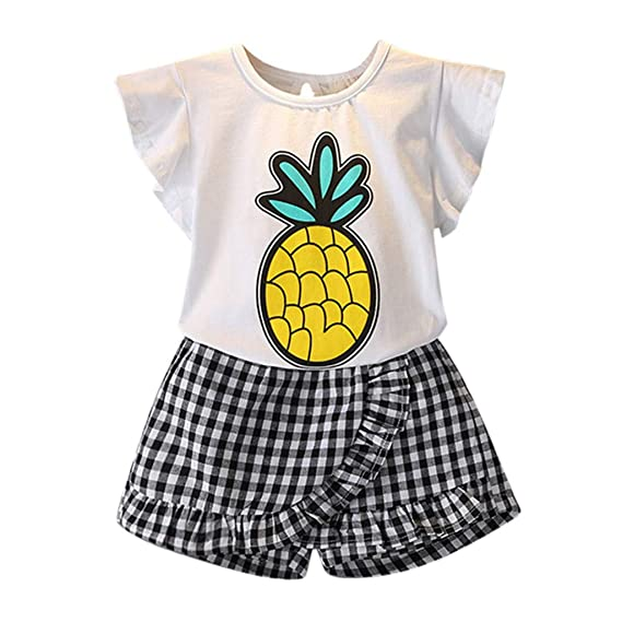 3458e4980bf Kids Girl Pineapple Outfits