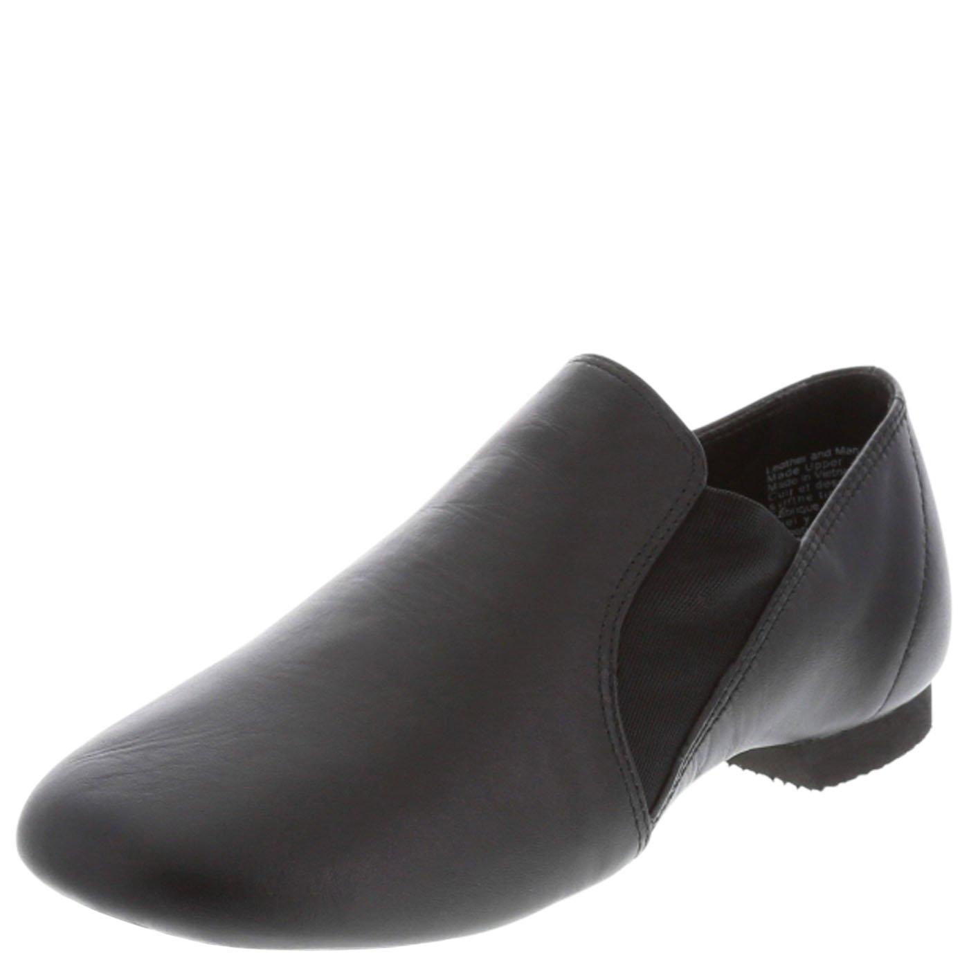 American Ballet Theatre For Spotlights Girl's Twin Gore Jazz Shoe Black 8