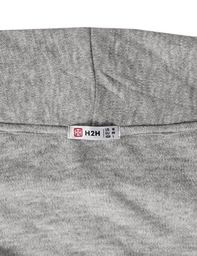H2H Men Classic Notched Lapel Blazer Cardigan Sweater Khaki US M/Asia L (CMOCAL020) by H2H (Image #6)