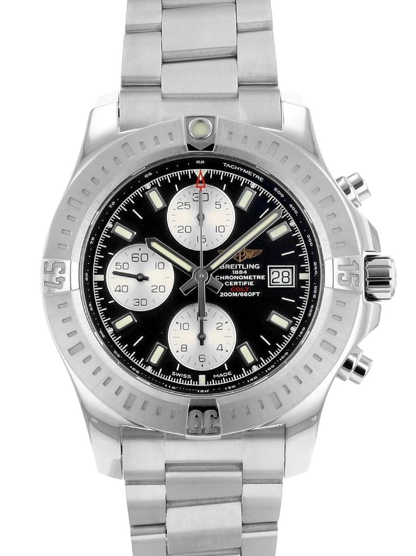[ブライトリング] 腕時計 BREITLING A13388 コルト クロノグラフ オートマチック SS ブラック文字盤 [中古品] [並行輸入品] B07BXRTDXC