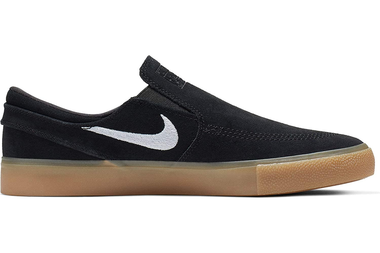Multicolour (Black White Black Gum Light Brown 1) Nike Unisex Adults Sb Zoom Janoski Slip Rm Fitness shoes
