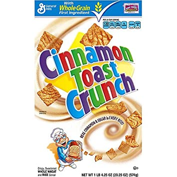 Image result for general mills cinnamon toast crunch