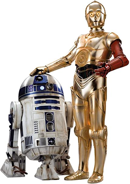 amazon com r2d2 c 3po star wars the force awakens decal removable