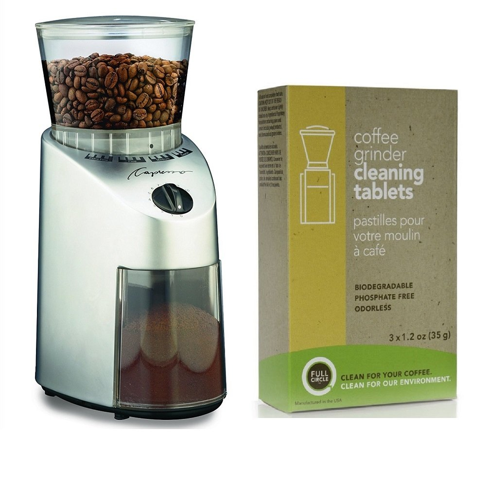 Capresso 560.04 Infinity Conical Burr Coffee Grinder Kit by Capresso