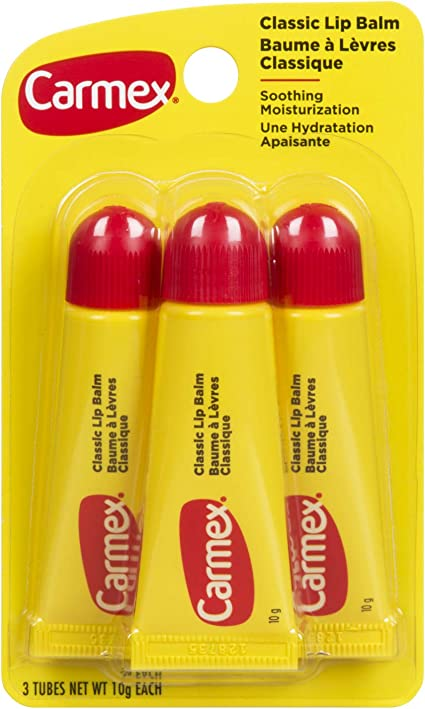 3 Pack) CARMEX Original Lip Balm Tube - Original: Amazon.es: Belleza