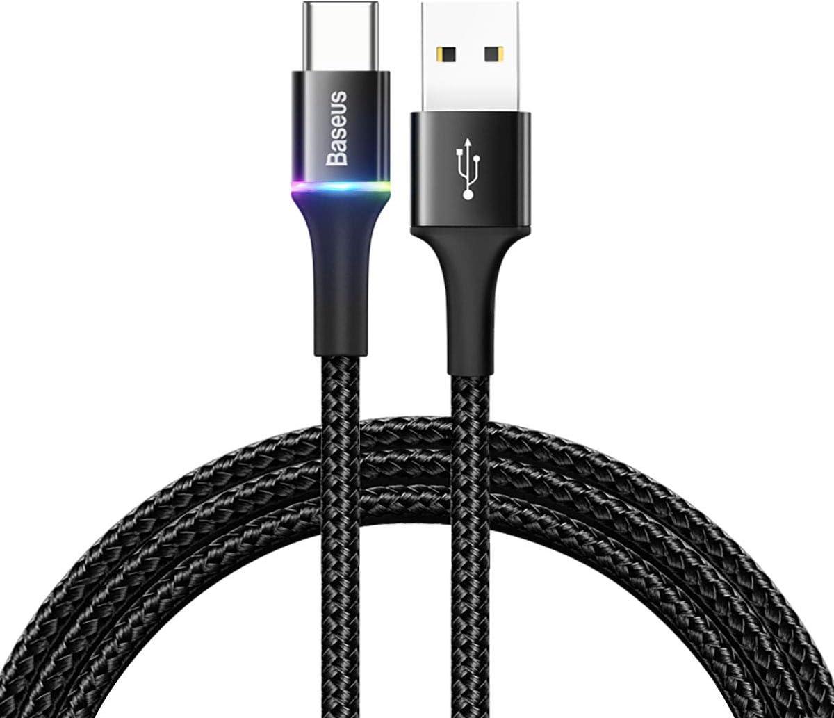 Baseus USB C Kabel, USB C Ladekabel, 2M