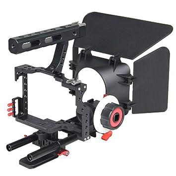 WARM ROOM Estabilizador de cámara de Mano, Kit de Toma de película ...