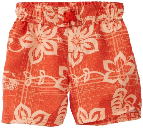 Ixtreme Baby Boys' Plaid Hibiscus Board Short