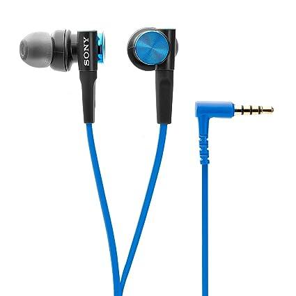 Sony Extra Bass MDR XB50AP in Ear Headphones with Mic  Blue  In Ear Headphones