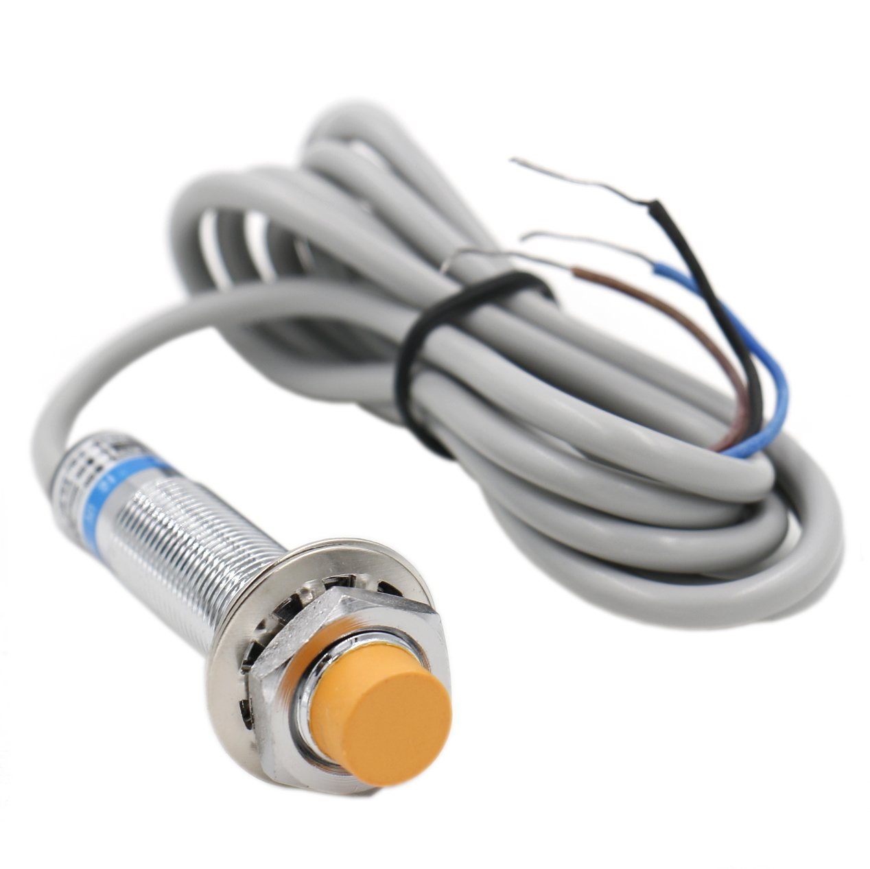 Heschen inductive proximity sensor switch LJ12A3-4-Z/AX detector 4 mm 6-36 VDC 300mA NPN normally closed(NC) 3 wire Heschen Electric Co.Ltd HS-LJ12A3-4-Z/AX