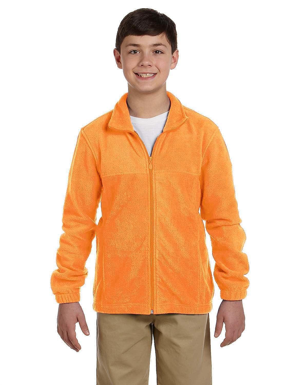 Harriton Youth Full-Zipper Polyester Fleece Pullover M990Y