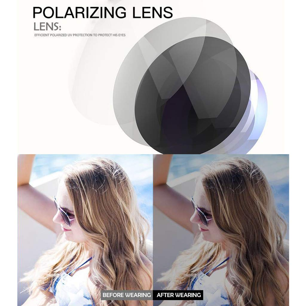 Oversized Gradient Sun Glasses Metal Colorful Lens Outdoor Decoration YOUSIKE Mens Classic Square UV400 Sunglasses