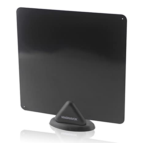 Amazoncom Hdtv Antenna Magnavox Indoor Digital Flat Antenna Ultra
