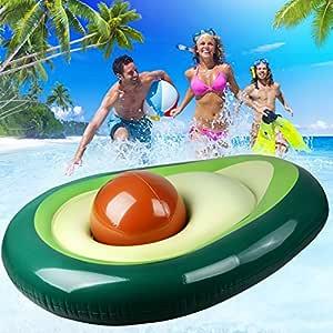 Flotador hinchable de fila flotante para piscina, juguete para ...