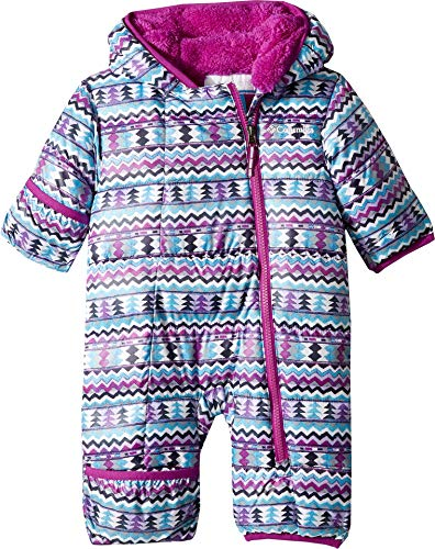 (Columbia Kids Unisex Frosty Freeze¿ Bunting (Infant) Bright Plum Zigzag Print 12-18 Months)