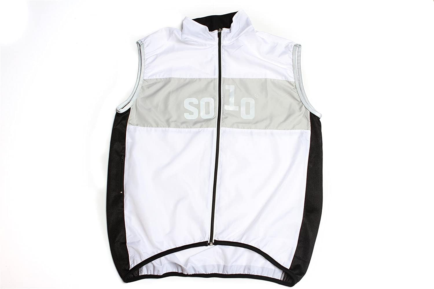 Solo Equipe Cycling Gilet White
