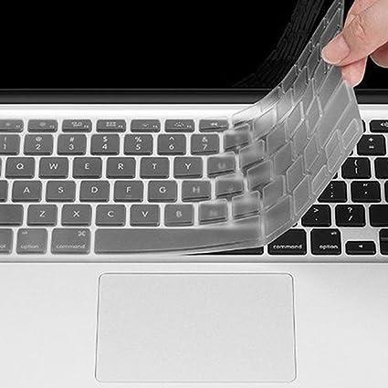 Ordenador de sobremesa funda protección Skin Protector de teclado transparente para macbook air pro 11/