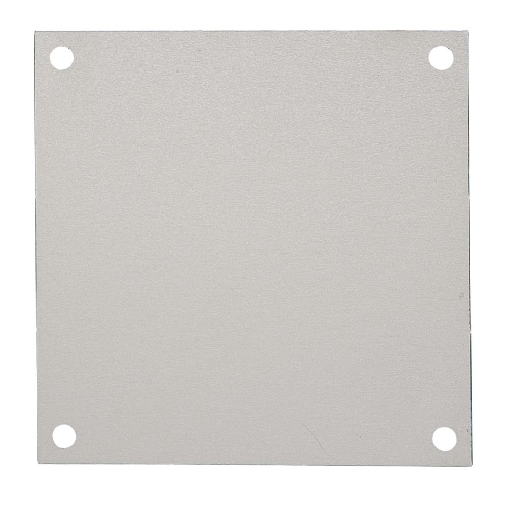 Fibox Enclosures ABP86 Steel Panel for 8'' x 6'' Enclosure, 4.9'' Width, 6.9'' Length
