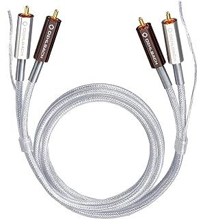 Supra Cables Biline Phono Cinch + Ground 1 m: Amazon.es: Electrónica